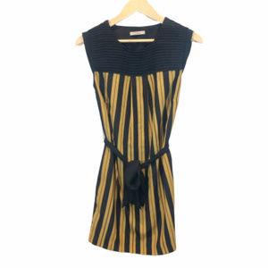 Darling Striped Sleeveless Dress - Medium